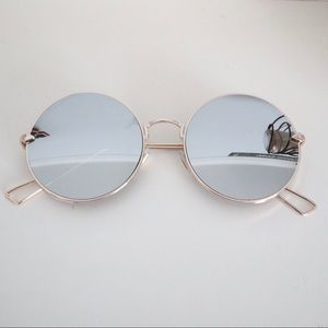 Circular Reflective Sunglasses